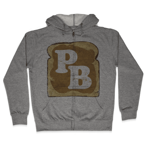 PB and J (Peanut Butter) Zip Hoodie