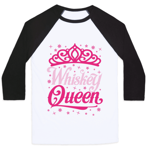Whiskey Queen Baseball Tee