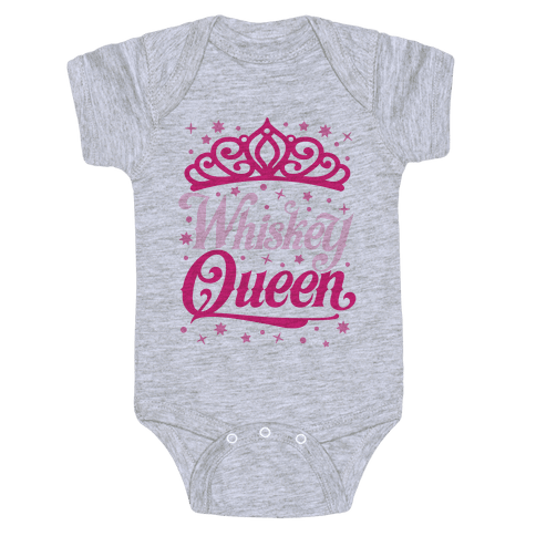 Whiskey Queen Baby Onesy