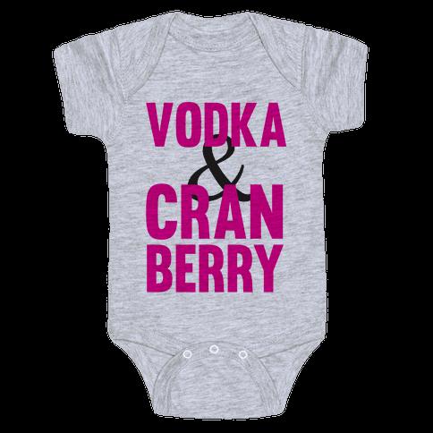 Vodka & Cranberry Baby Onesy