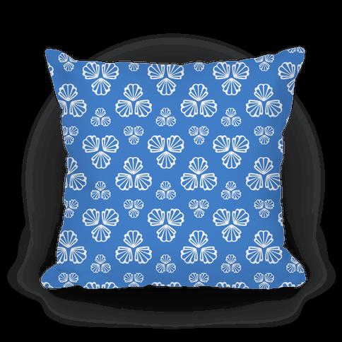 Blue Seashells Pattern