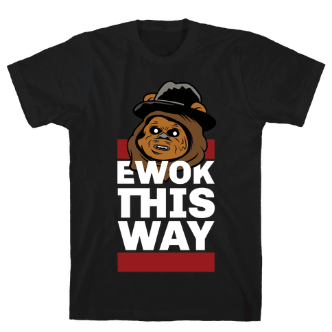 Ewok this Way Mens T-Shirt