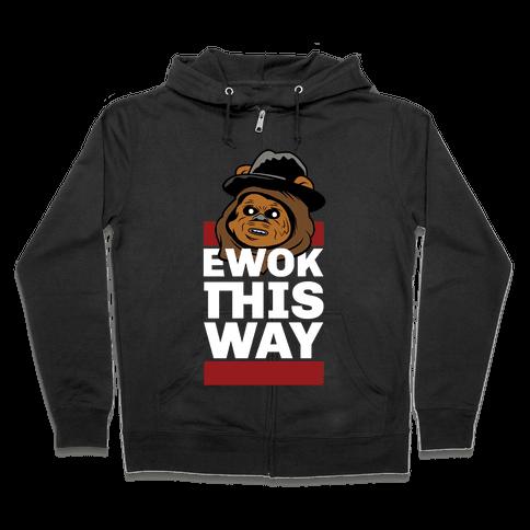Ewok this Way Zip Hoodie