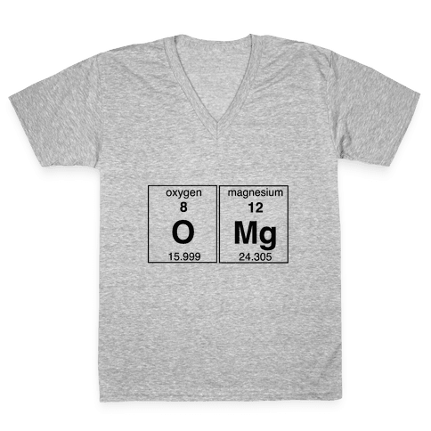 OMG V-Neck Tee Shirt