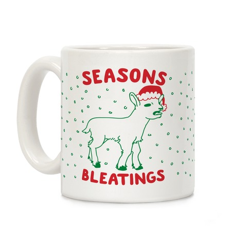 Seasons Bleatings Coffee Mug