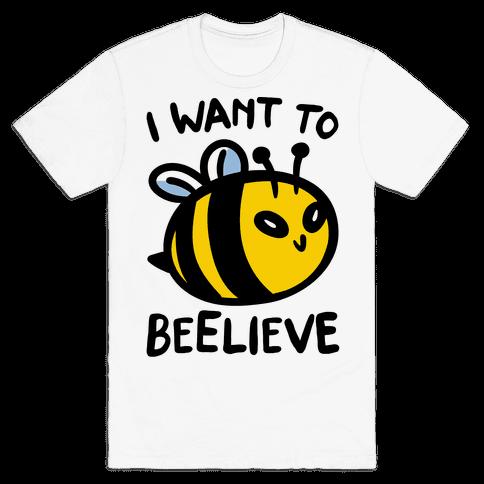 I Want To Beelieve parody