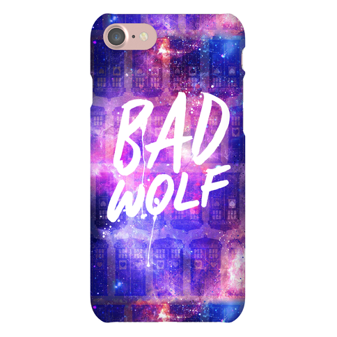 Doctor Who Bad Wolf Phone Case