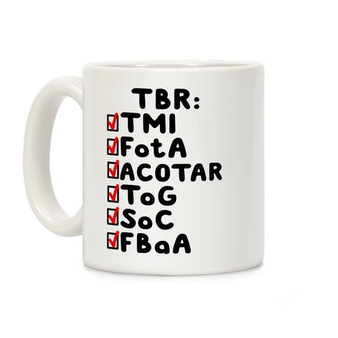 TBR Book Community Coffee Mug