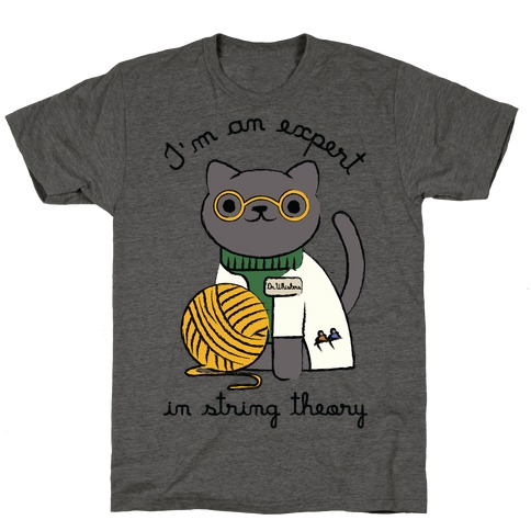 I'm An Expert In String Theory T-Shirt
