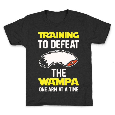 Training To Defeat The Wampa - One Arm at a Time Kids T-Shirt