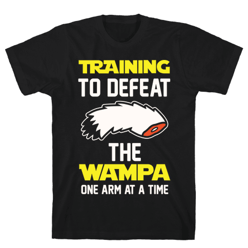 Training To Defeat The Wampa - One Arm at a Time Mens T-Shirt