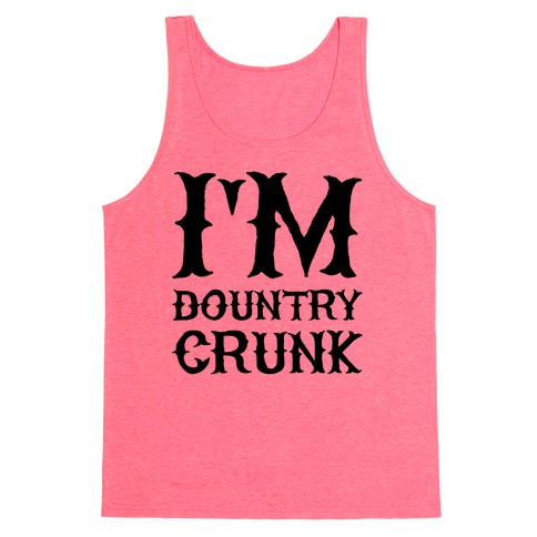 Dountry Crunk Tank Top