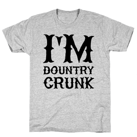 Dountry Crunk Mens T-Shirt