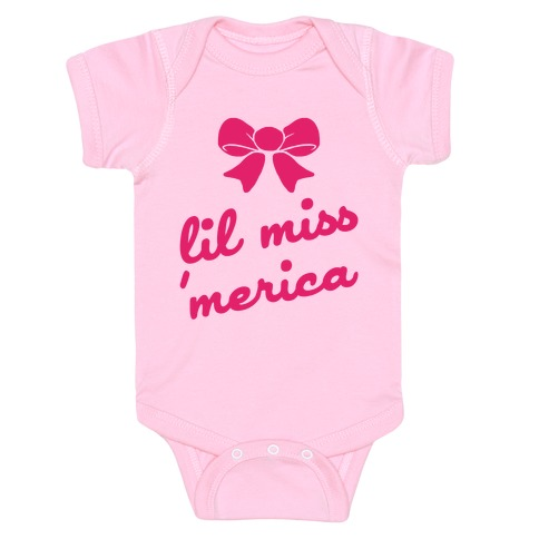 Lil Miss Merica Baby Onesy