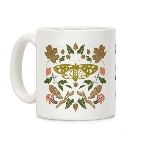 Woodland Moth Coffee Mug