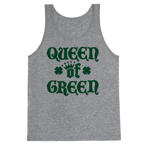 Queen Of Green Tank Top