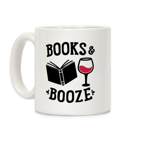 Books & Booze Coffee Mug