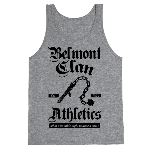 Belmont Clan Athletics Tank Top