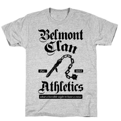 Belmont Clan Athletics T-Shirt