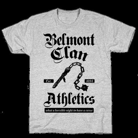 Belmont Clan Athletics Mens/Unisex T-Shirt