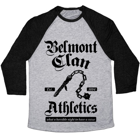 Belmont Clan Athletics Baseball Tee