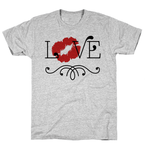 Love Kisses Mens T-Shirt