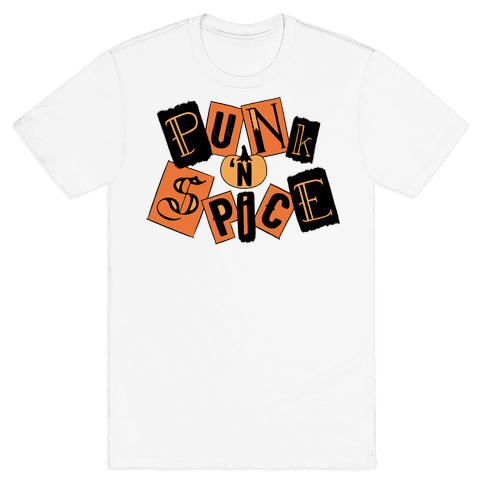 Punk N' Spice Mens T-Shirt