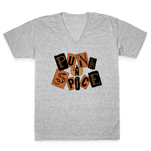 Punk N' Spice V-Neck Tee Shirt