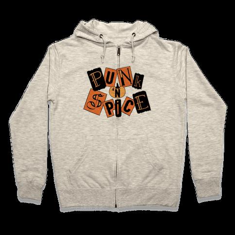 Punk N' Spice Zip Hoodie