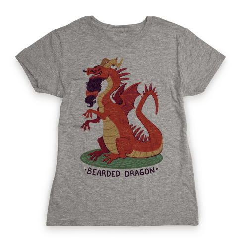 Bearded Dragon Womens T-Shirt