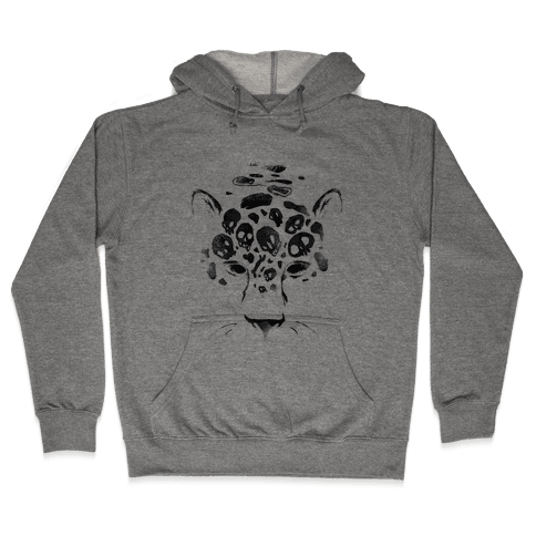 Spooky Skulls Jaguar Hooded Sweatshirt