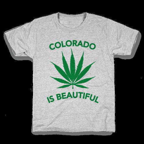 COLORADO IS BEAUTIFUL Kids T-Shirt