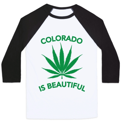 COLORADO IS BEAUTIFUL Baseball Tee