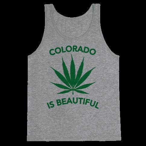 COLORADO IS BEAUTIFUL Tank Top
