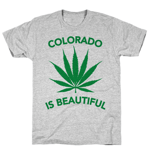 COLORADO IS BEAUTIFUL Mens T-Shirt
