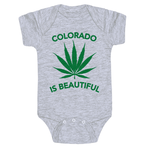 COLORADO IS BEAUTIFUL Baby Onesy
