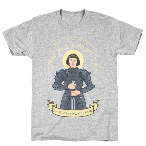 I Am Not Afraid - Joan Of Arc Mens T-Shirt