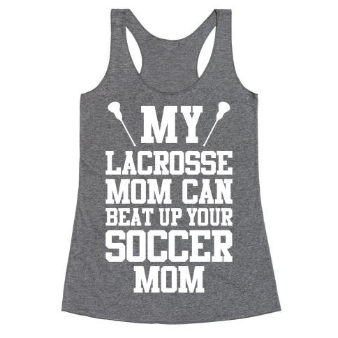 Lacrosse Mom Racerback Tank Top