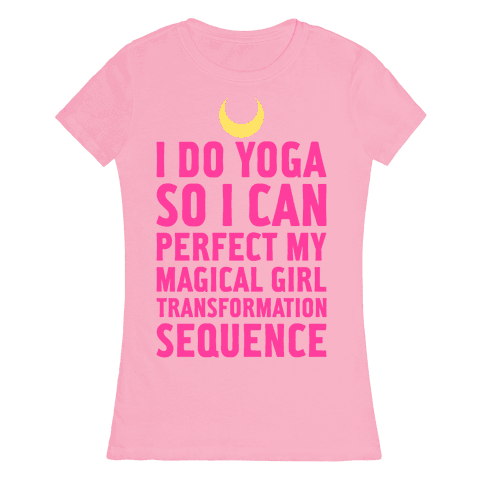 I Do Yoga Womens T-Shirt