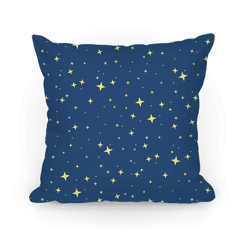 Blue Twinkling Star Sparkles Pattern