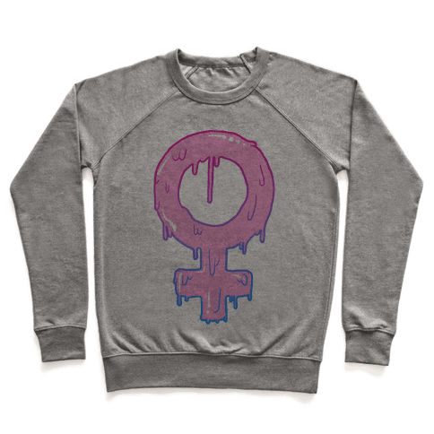 Pink Slime Feminism Pullover
