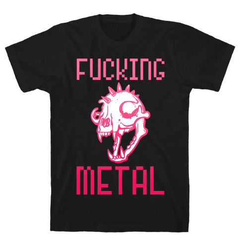 F***ing Metal Mens T-Shirt