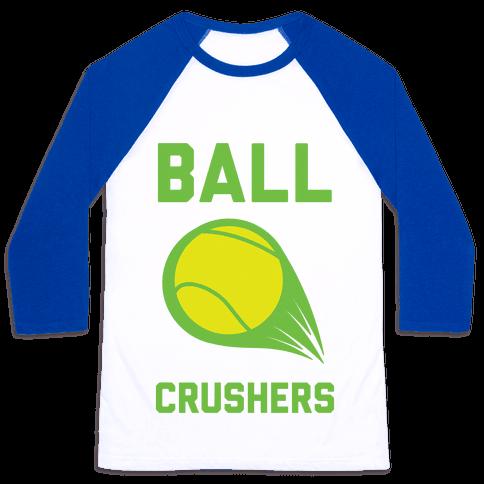 Ball Crushers Baseball Tee