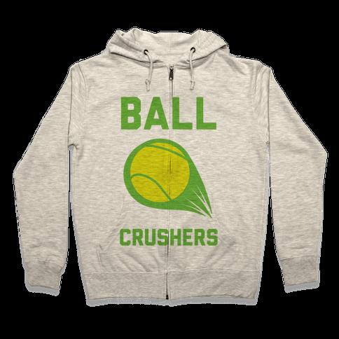 Ball Crushers Zip Hoodie