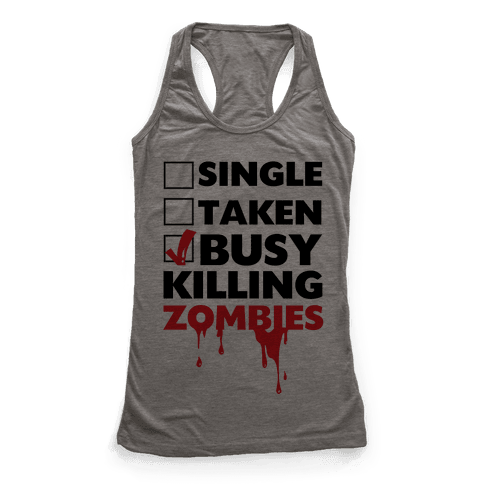 Busy Killing Zombies