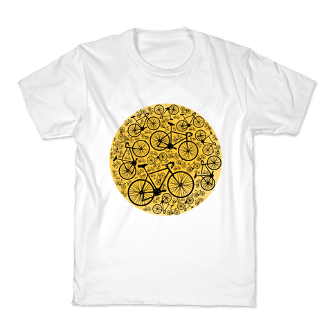 All Bikes Go Full Circle Kids T-Shirt