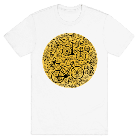 All Bikes Go Full Circle Mens T-Shirt