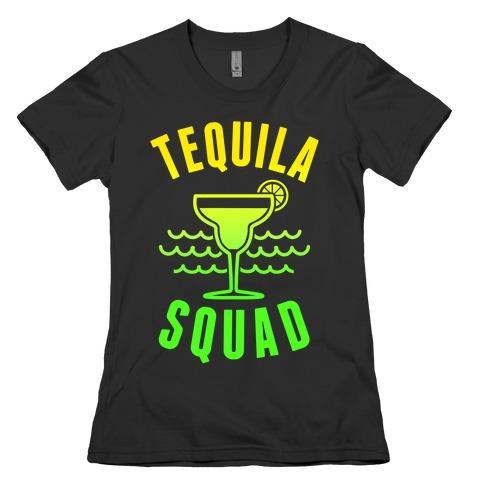 Tequila Squad Womens T-Shirt