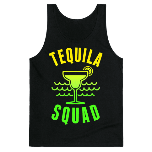 Tequila Squad Tank Top