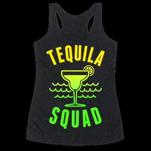 Tequila Squad Racerback Tank Top